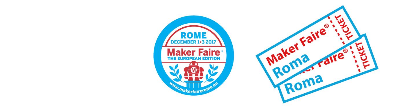 Biglietti Maker Faire