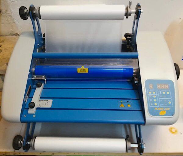 Plastificatrice Plasti 330 completa di snervatore