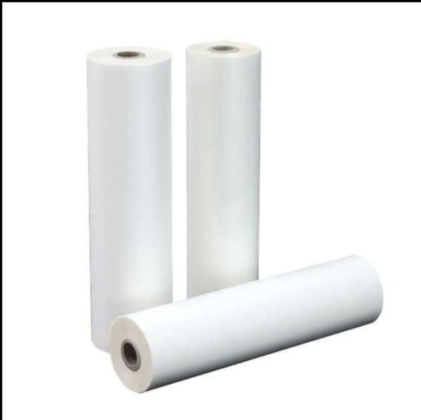 Film plastificante a caldo opaco da mm 330x150 ml - 42 micr- mandrino piccolo